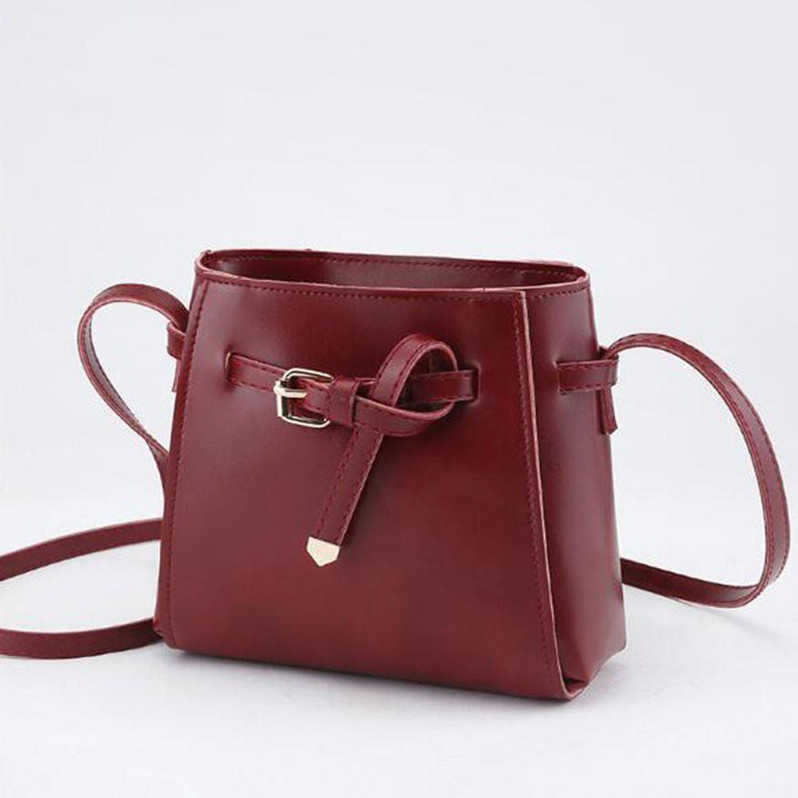 多色選 時尚女包 女士單肩包 斜挎包 百搭小方包 繫帶蝴蝶結水桶包 時尚甜美 手提包 潮可