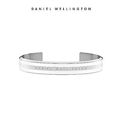 DW官方直營旗艦店 經典樣式 融合瓷白基調與金屬光澤 型號:DW00400006
