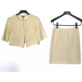 アナイ ANAYI スカートスーツ サイズ38 M レディース ベージュ【中古】20190910