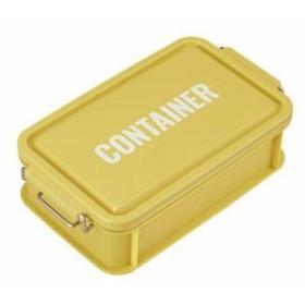 オーエスケー コンテナランチボックス イエロー 型番:CNT-750