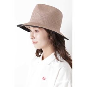 HUMAN WOMAN 天然草木ハット その他 帽子,モカ1