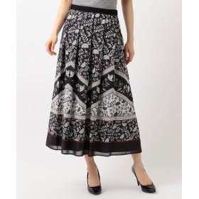 自由区(ジユウク)/【Class Lounge】SARASAプリントスカート