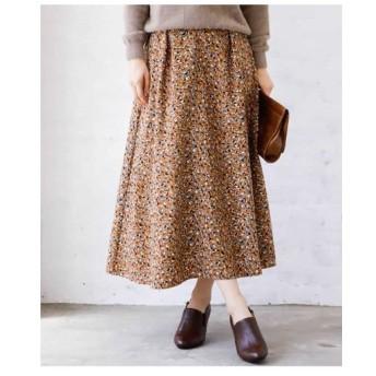MK MICHEL KLEIN ミッシェルクラン / 【洗濯機で洗える】フラワー幾何柄スカート