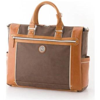 ビジネスバッグ TC-3450 ブラウン/キャメル