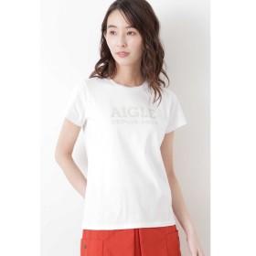 【ヒューマンウーマン/HUMAN WOMAN】 ◆AIGLE コラボTシャツ