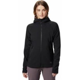 (取寄)マウンテンハードウェア レディース ケエレ フーデッド ジャケット Mountain Hardwear Women Keele Hooded Jacket Black