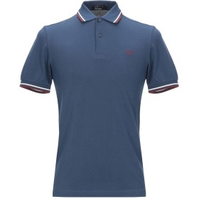 《セール開催中》FRED PERRY メンズ ポロシャツ ダークブルー S コットン 100%