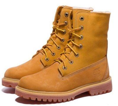 現貨熱銷  踢不爛天伯倫timberland 情侶鞋高幫防水 加毛 35-44 雪地靴 防水潮靴 登山鞋