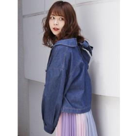 【ダズリン/dazzlin】 バックシャンミニテーラージャケット