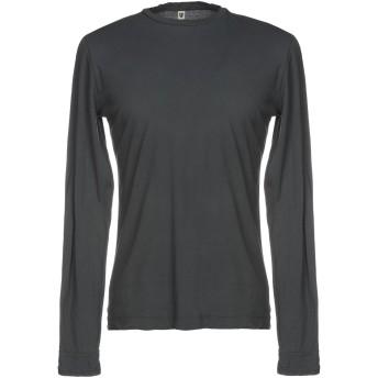 《セール開催中》CROSSLEY メンズ T シャツ グレー S コットン 100%