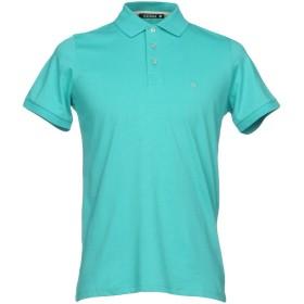 《期間限定セール開催中!》ANDREA FENZI メンズ ポロシャツ ターコイズブルー 50 コットン 92% / ポリウレタン 8%