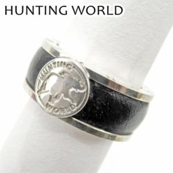 ハンティングワールド 指輪 リング エレファントマーク HUNTING WORLD 中古