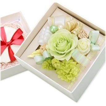 プリザーブドフラワー ボックス レディース お花ソムリエ 誕生日プレゼント ギフト