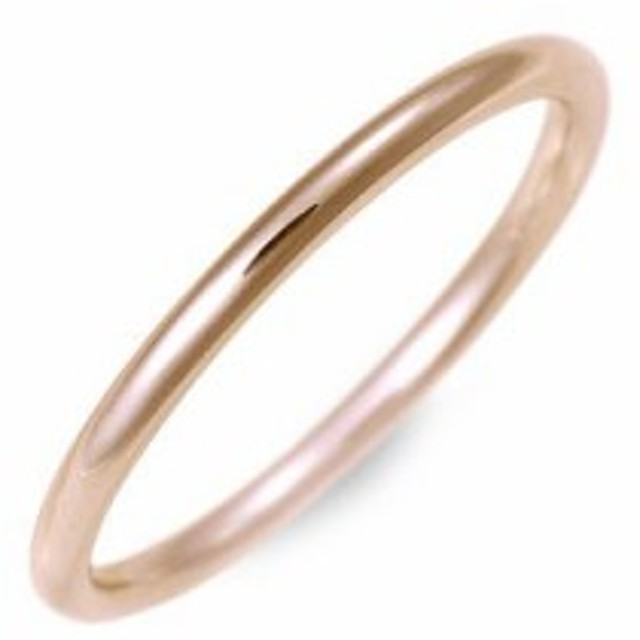 Jオリジナル ピンクゴールド マリッジリング 結婚指輪 リング 指輪 名入れ 刻印 ギフト ラッピング 20代 30代 彼女 レディース 送料無料