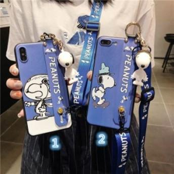 Snoopyケース iphone Xs MAX ケース アイホンケース スヌーピー iPhone8 plusケーススマホケース 耐衝撃ケース 携帯カバー ストライプ