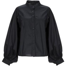 《期間限定セール開催中!》VANESSA SCOTT レディース シャツ ブラック S コットン 100%