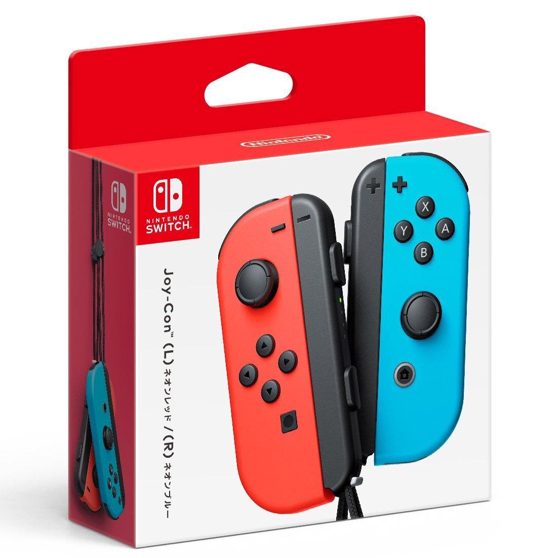 現貨供應中  [普遍級]  Nintendo Switch Joy-Con 控制器組(電光紅 / 電光藍)