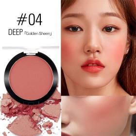 SACE LADY Blush Powder Long Lasting Pigmented Glow Cheek Makeup 6g/0.2oz (Soft Red)