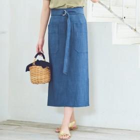 DRESSTERIOR(Ladies)(ドレステリア:レディース)/【WEB限定Lサイズあり】【洗える】アウトポケットタイトスカート