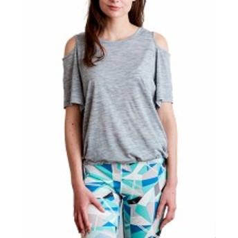 スーパーナチュラル:【レディース】YOGA SLASH SHOULDER LOOSE【sn super.natural エスエヌ スポーツ フィットネス 半袖 Tシャツ】