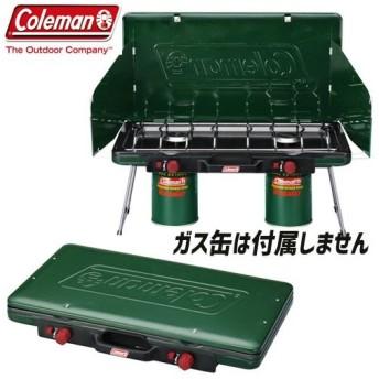 coleman コールマン パワーハウスLPツーバーナーストーブ2 キャンプ BBQ ツーバーナー コンロ ストーブ:2000006707
