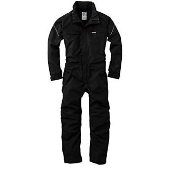 GRACE ENGINEERS GE209 5ブラック オールシーズン用 撥水防風ツナギ L