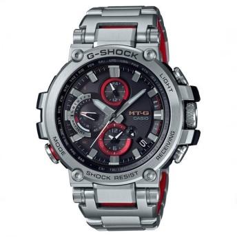 カシオ腕時計 G-SHOCK ジーショックMT-G 電波ソーラー + BLE MTG-B1000D-1AJF