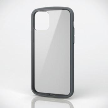 iPhone 11 Pro 5.8inch/TOUGH SLIM LITE/フレームカラー/グレー エレコム PM-A19BTSLFCGY
