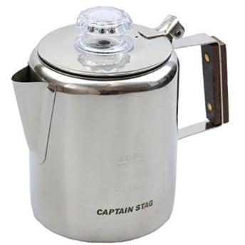 コーヒー ポット 18-8ステンレス製パーコレーター 3カップM-1225[M-1225](マルチ, 3カップ)