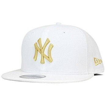NEW ERA(ニューエラ) スナップバック キャップ ニューヨーク ヤンキース ホワイト 帽子