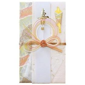 赤城 祝儀袋 婚礼用 錦 ピンク Aキ40099