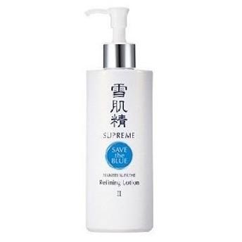雪肌精 シュープレム 化粧水II (ディスペンサー付ボトル) 400ml (しっとりしたうるおい)
