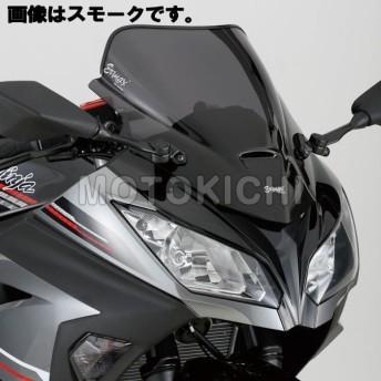 POSH ポッシュ 978501 Ermax エアロタイプスクリーン クリア Ninja250('13年〜)