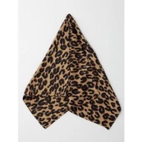 【CECIL McBEE:財布/小物】豹柄スカーフ
