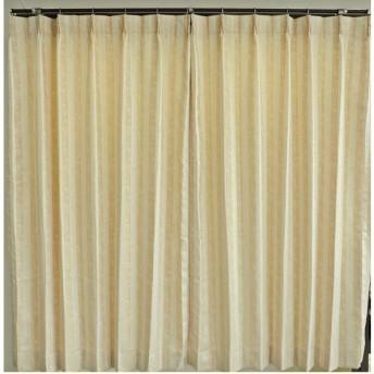 ボーマ(BOMA) ドレープカーテン 形態安定加工付 オレンジ 100cm×135cm 2枚組 628919BO