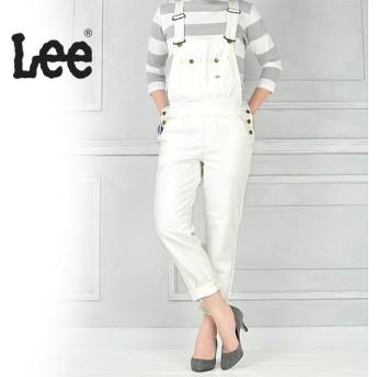Lee リー HERITAGE LITE テーパードオーバーオール/サロペット(ホワイトデニム)LL1154-2