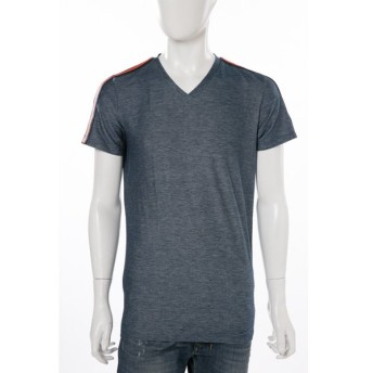 ディーゼル DIESEL Tシャツアンダーウェア Tシャツ 半袖 Vネック 55-DTEEV MAGLIETTA メンズ 00SRMT 0DAMR ネイビー