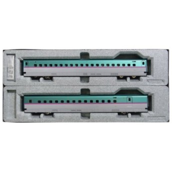 HOゲージ E5系 新幹線 はやぶさ 増結 2両セット 鉄道模型 電車[3-517]