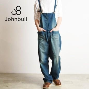 ジョンブル Johnbull デニム ワークオーバーオール サロペット メンズ 21050