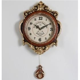 掛け時計 クラウンキュービック振り子時計 壁掛け時計 おしゃれ 掛時計 北欧 時計 インテリア