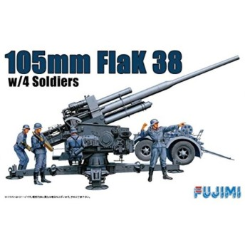 1/76 WAシリーズNo.24 ドイツ 105ミリ対空砲 プラモデル[WA-24]