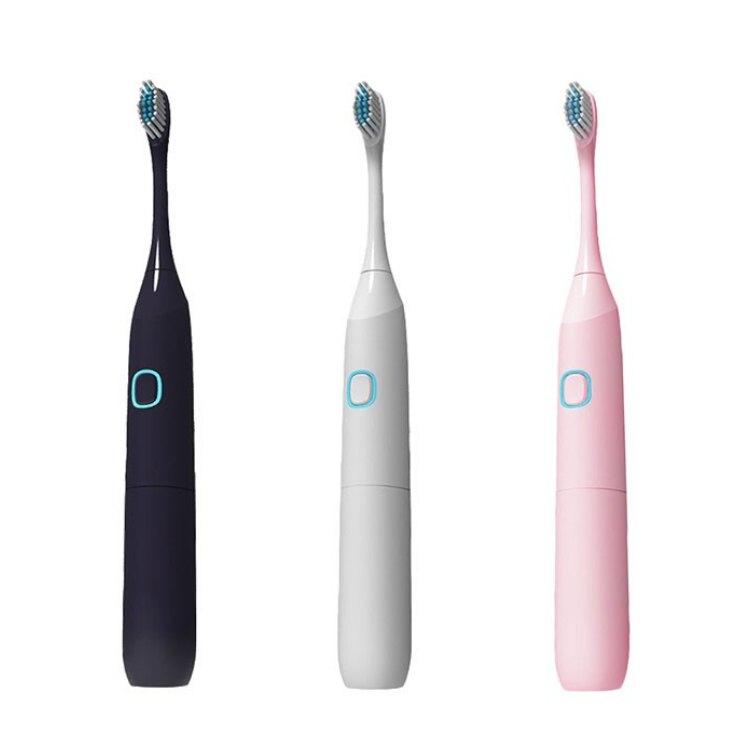 防水聲波電動牙刷組 全機防水 超音波電動牙刷 牙齒清潔刷 音波震動牙刷頭 電動牙刷