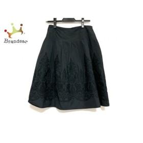 トゥモローランド TOMORROWLAND スカート サイズ1 S レディース 美品 黒 刺繍 新着 20190914