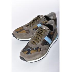 モンクレール MONCLER スニーカー ローカット NEW MONTEGO 靴 メンズ 1011300 07879 ブルー迷彩 目玉商品