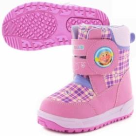 ムーンスター キッズ 子供靴 ブーツ キッズ アンパンマン APM C025E ピンク  MOONSTAR APM-C025E-PINK