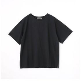 【NICOLE:トップス】サイドファスナーショートTシャツ