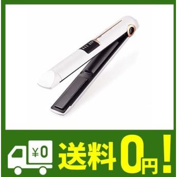 ストレート・カール両用 ヘアアイロン usb充電式 165/185/205℃ 3段階温度調節 led表示 携帯 ヘアアイロン usb ヘアアイロン コ