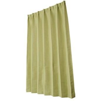 ユニベール 遮光ドレープカーテン グリーン 幅200×丈178cm 1枚 HAZ-D0002