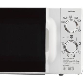 ツインバード 電子レンジ(17l) 60Hz(西日本)DR−D419W6