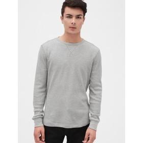 Gap サーマルクルーネックTシャツ